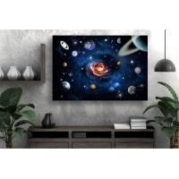 Tablou Canvas Astronomie Craiova - Planetele si cerul - Persona Design
