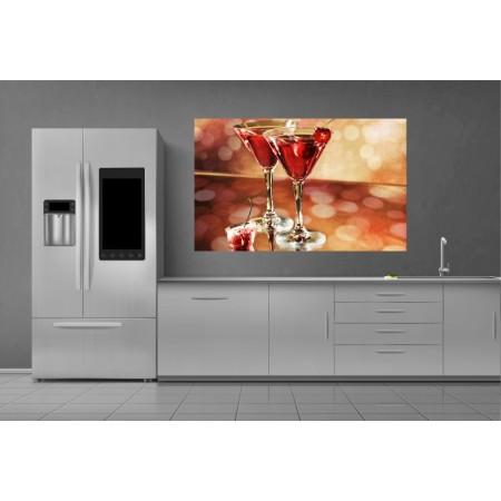 Tablou Canvas Bautura Craiova - Pahare cu cocktail - Persona Design