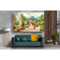 Tablou Canvas Copii Craiova - Abstract 3d ponei - Persona Design