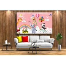 Tablou Canvas Copii Craiova - Animale desenate - Persona Design