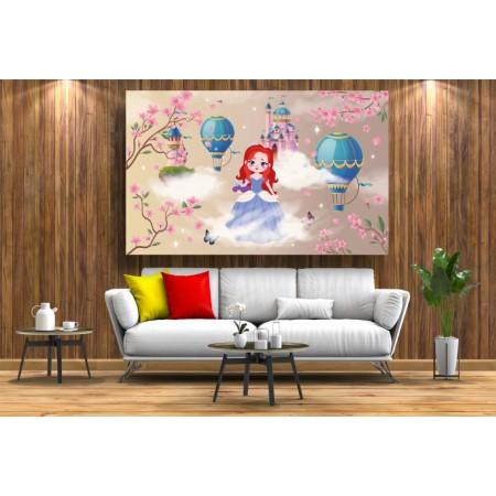 Tablou Canvas Copii Craiova - Cenusareasa la castel - Persona Design