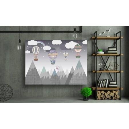 Tablou Canvas Copii Craiova - Zbor deasupra muntilor - Persona Design