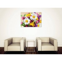 Tablou Canvas Flori Craiova - Buchet colorat - Persona Design