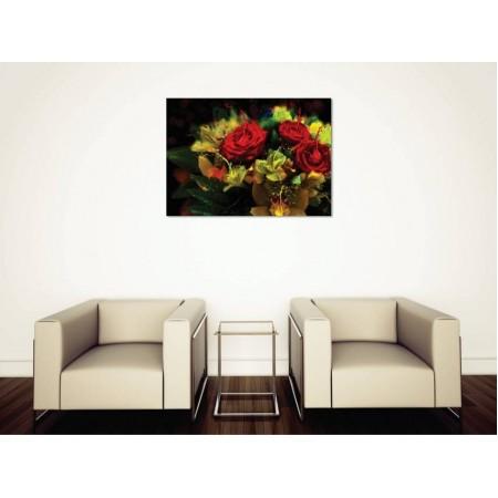 Tablou Canvas Flori Craiova - Buchetul cu trandafiri - Persona Design