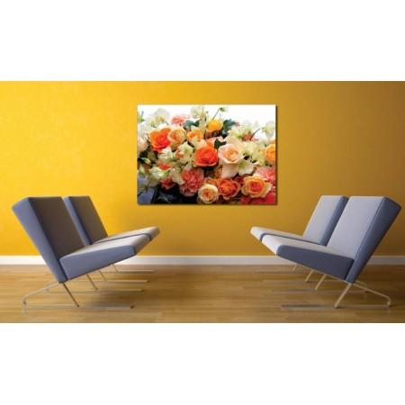 Tablou Canvas Flori Craiova - Colectie de trandafiri - Persona Design