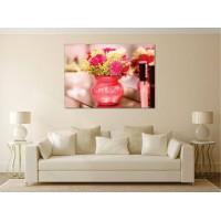 Tablou Canvas Flori Craiova - Vaza cu flori colorate - Persona Design