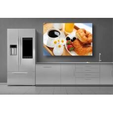 Tablou Canvas Mancare Craiova - Cafea si croissante - Persona Design