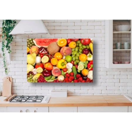 Tablou Canvas Mancare Craiova - Legume si fructe - Persona Design