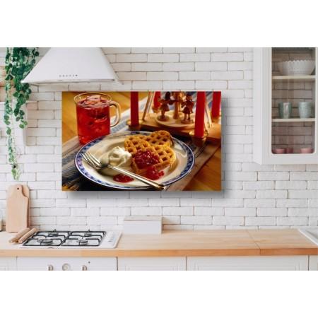 Tablou Canvas Mancare Craiova - Vafe la micul dejun - Persona Design