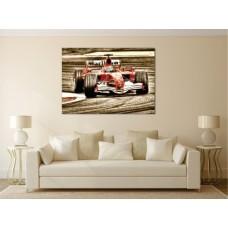 Tablou Canvas Masini Craiova - Furia rosie F1 - Persona Design