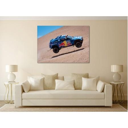 Tablou Canvas Masini Craiova - Zburand prin desert - Persona Design