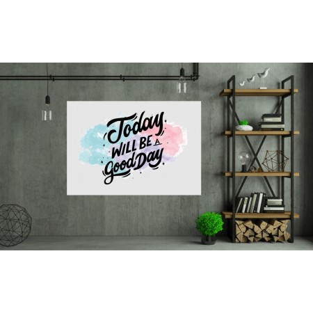 Tablou Canvas Motivational Craiova - Azi va fi o zi buna - Persona Design