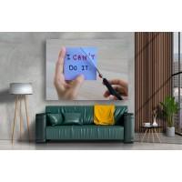 Tablou Canvas Motivational Craiova - Pot sa fac orice - Persona Design