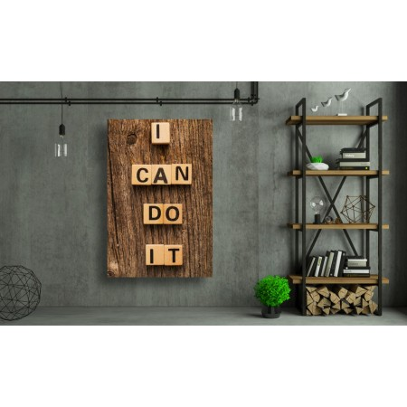 Tablou Canvas Motivational Craiova - Pot sa reusesc - Persona Design