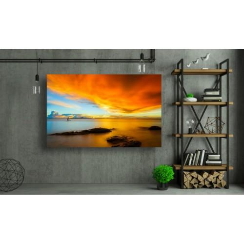 Tablou Canvas Natura Craiova - Apus multicolor- Persona Design