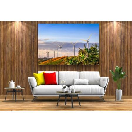 Tablou Canvas Natura Craiova - Campia de turbine- Persona Design