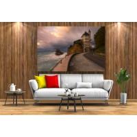 Tablou Canvas Natura Craiova - Castelul si marea- Persona Design