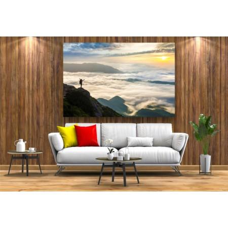 Tablou Canvas Natura Craiova - Deasupra norilor- Persona Design