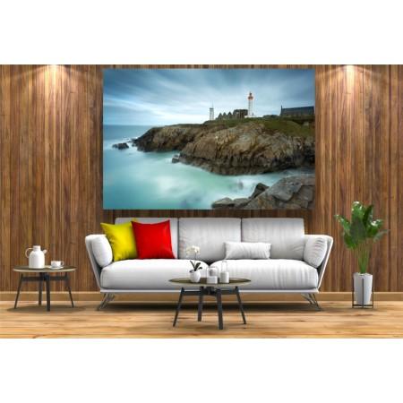 Tablou Canvas Natura Craiova - Farul de pe coasta franceza - Persona Design
