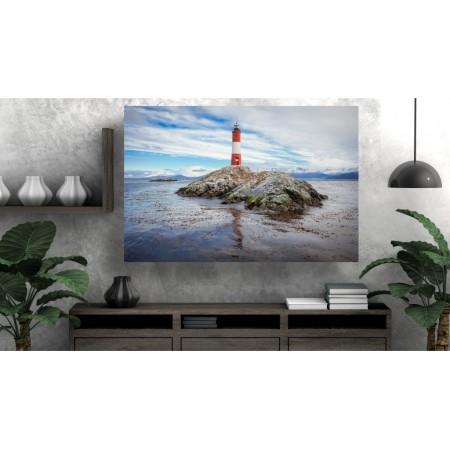 Tablou Canvas Natura Craiova - Farul de pe stanca - Persona Design