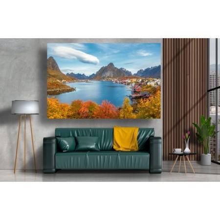 Tablou Canvas Natura Craiova - Insula Lofoten - Persona Design
