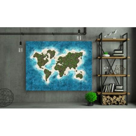 Tablou Canvas Natura Craiova - Lumea din ocean - Persona Design