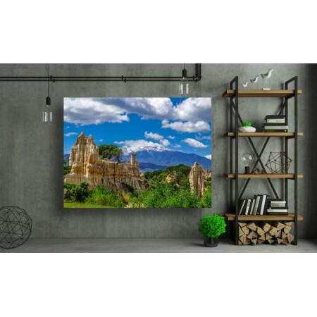 Tablou Canvas Natura Craiova - Muntii dinspre nori - Persona Design