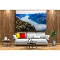 Tablou Canvas Natura Craiova - Norvegia albastra - Persona Design
