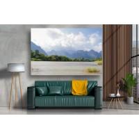 Tablou Canvas Natura Craiova - Peisaj cu lac - Persona Design