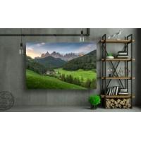 Tablou Canvas Natura Craiova - Peisaj din Dolomites, italia - Persona Design