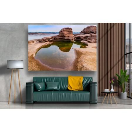 Tablou Canvas Natura Craiova - Piscina dintre stanci - Persona Design