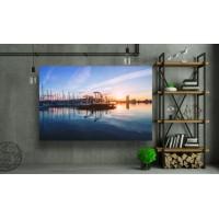 Tablou Canvas Natura Craiova - Port din Barcelona - Persona Design