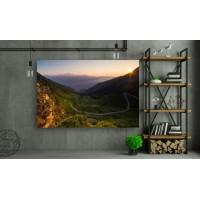 Tablou Canvas Natura Craiova - Soseaua din Muntii Italiei - Persona Design