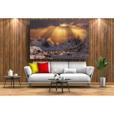Tablou Canvas Natura Craiova - Splendoare Norvegiana - Persona Design