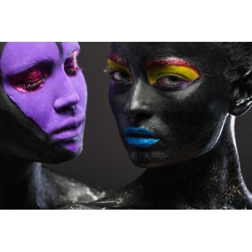 Tablou Canvas Sexi Craiova - Femei cu machiaj sexy - Persona Design