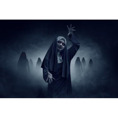 Tablou Canvas Sexi Craiova - Femeie calugarita horror - Persona Design