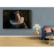 Tablou Canvas Sexi Craiova - Femeie cu guler si coroana - Persona Design