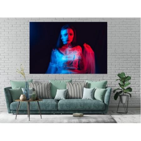 Tablou Canvas Sexi Craiova - Femeie portret in rochie - Persona Design