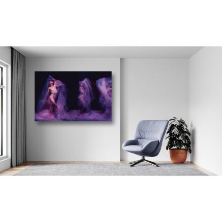 Tablou Canvas Sexi Craiova - Femeie sexy balerina cu voal - Persona Design