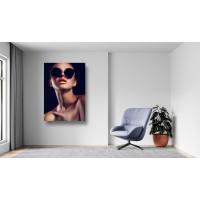 Tablou Canvas Sexi Craiova - Femeie sexy cu ochelari - Persona Design