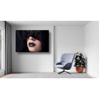 Tablou Canvas Sexi Craiova - Femeie sexy cu ruj negru - Persona Design