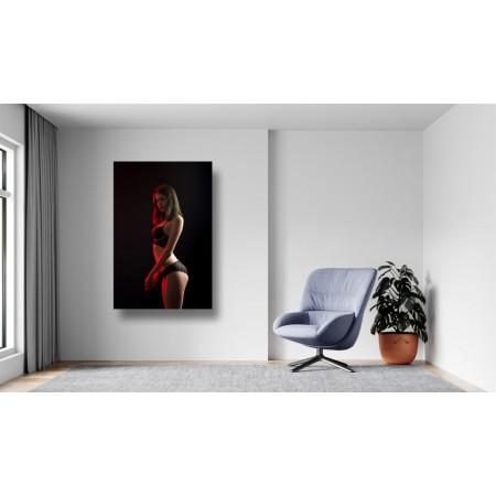 Tablou Canvas Sexi Craiova - Femeie sexy in lenjerie budoar - Persona Design
