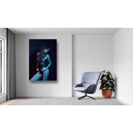 Tablou Canvas Sexi Craiova - Femeie sexy in lenjerie transparenta - Persona Design