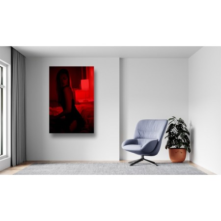 Tablou Canvas Sexi Craiova - Femeie sexy in pat - Persona Design