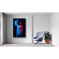 Tablou Canvas Sexi Craiova - Femeie sexy in rochie alba - Persona Design