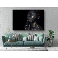 Tablou Canvas Sexi Craiova - Femeie sexy machiata - Persona Design