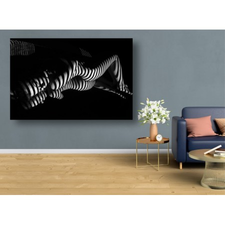 Tablou Canvas Sexi Craiova - Femeie sexy nud linii reflexie - Persona Design