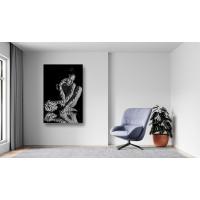 Tablou Canvas Sexi Craiova - Femeie sexy nud reflexie lumina - Persona Design