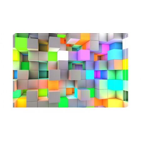 Tablou Canvas Texturi Craiova - Cuburi - Persona Design