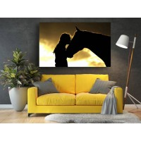 Tablou Canvas Animale Craiova -  Best friends- Persona Design